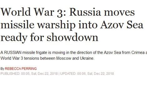 Британское издание написало о «третьей мировой войне» между Россией и Украиной