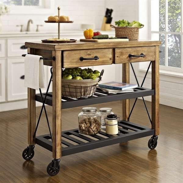 маленький стол на колесиках, фото 40