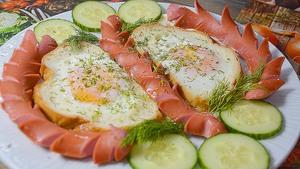 Красивая и вкусная яичница-г…