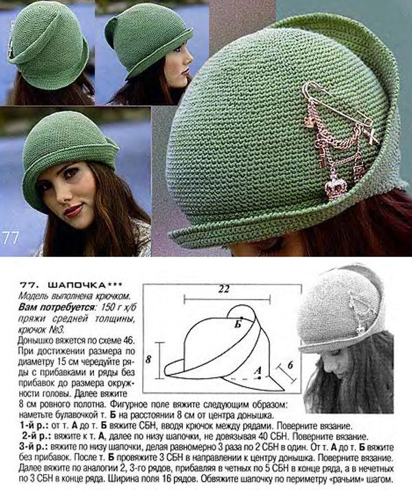 Как своими руками связать модную шапочку