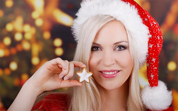 ТОП-3: Необычный новогодний макияж бровей