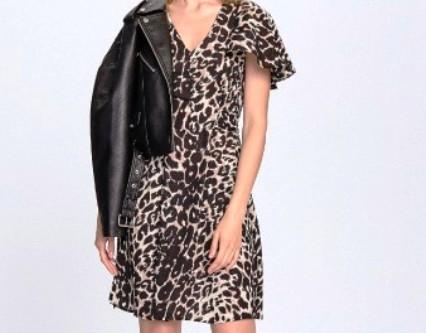 Спорный леопардовый принт — на этих фасонах платьев он будет смотреться стильно и элегантно!