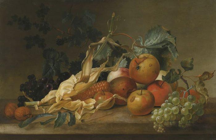художник Ян ван Хёйсум (Jan Van Huysum) картины - 01