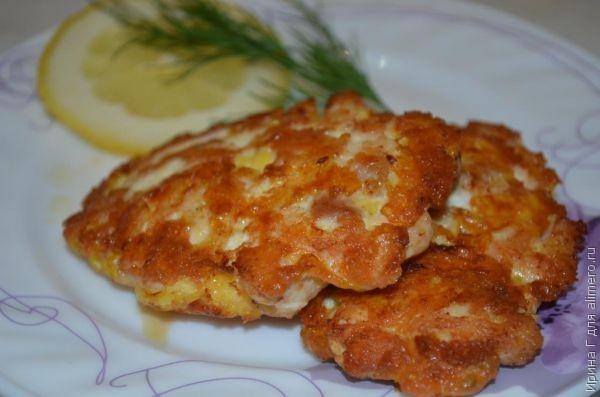 Котлеты рубленные с сыром рецепт с фото