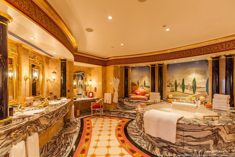 BurjAlArab26 Золото для шейхов и олигархов: самый дорогой номер в семизвездочном отеле Burj Al Arab
