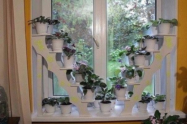 Интересная идея для домашнего цветника.