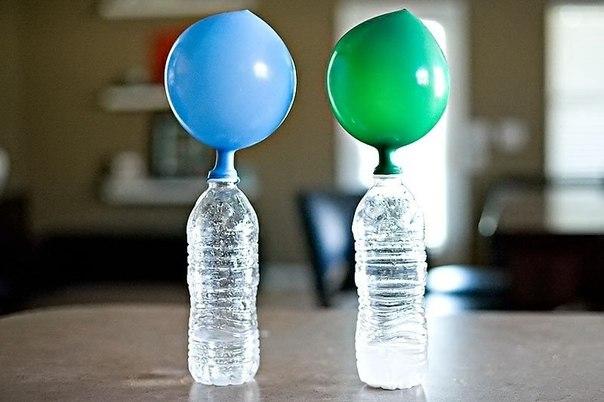 Надуваем шарики для вечеринки (если нет гелия)