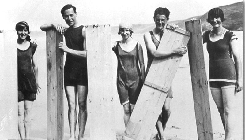 8. Серферы, 1922 женщины из прошлого, история, фото