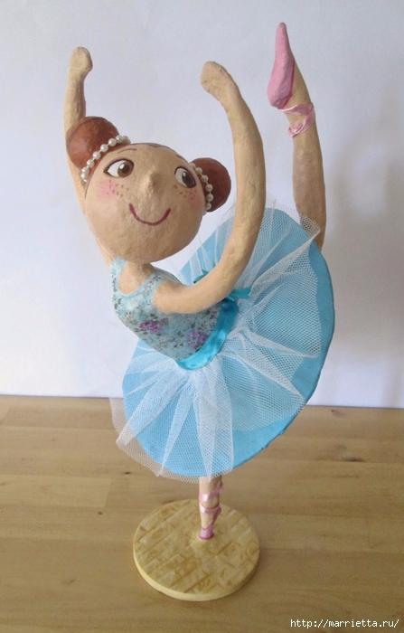 Статуэтки Дамы из папье-маше, вдохновляемся