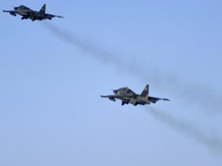Под Луганском сбито два военных самолета