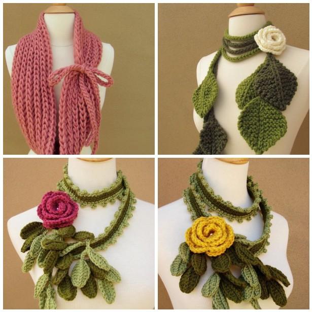 Представляем идеи самых оригинальных и красивых шарфиков!