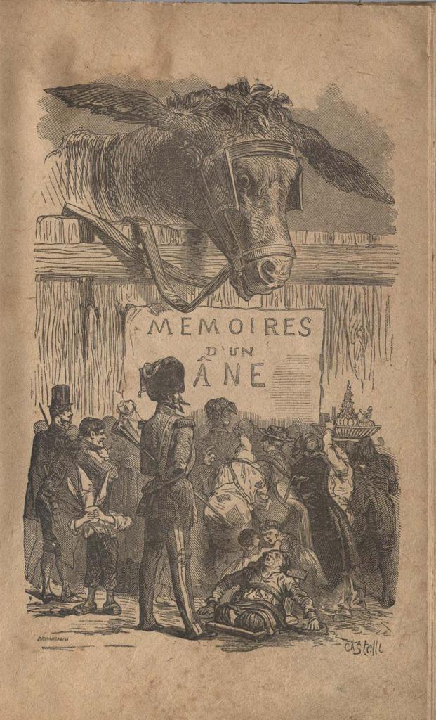 Графиня Ростопчина-де-Сегюр с картинками Горация Кастелли