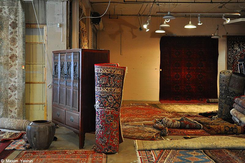 Antiques shops 2 Антикварные магазины в США