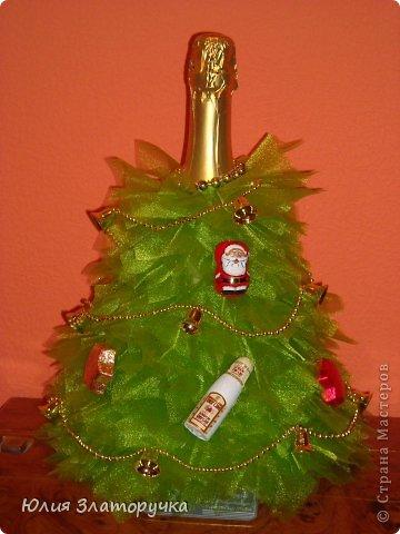 Декор предметов, Свит-дизайн Макет: новогодние елочки и как делать фунтики Бусинки, Клей, Ткань Новый год. Фото 2