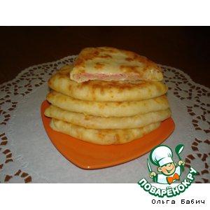 Рецепт - сырные лепешки за 5 минут