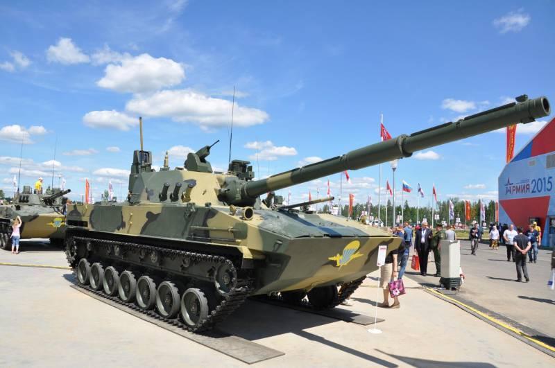 """Рособоронэкспорт выводит на мировой рынок вооружений """"Спрут-СДМ1"""""""