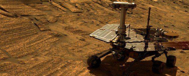 Пылевая буря на Марсе затиха…