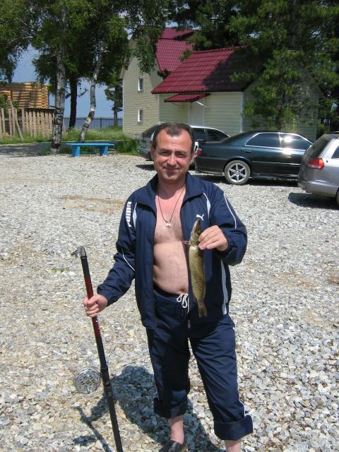 Култушная - после рыбалки...
