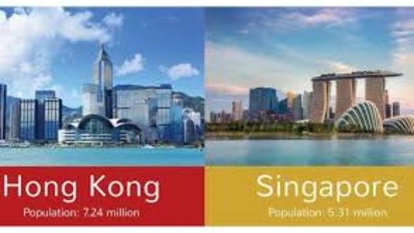 Дистопия vs утопия: чем различаются Гонконг и Сингапур