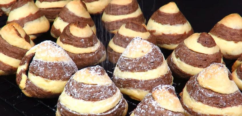 Праздничное песочное печенье. Пирамидка с начинкой. Просто, вкусно и красиво