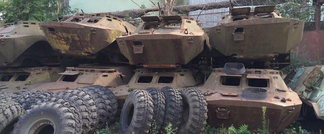 Украинская военная техника оказалось полным отстоем