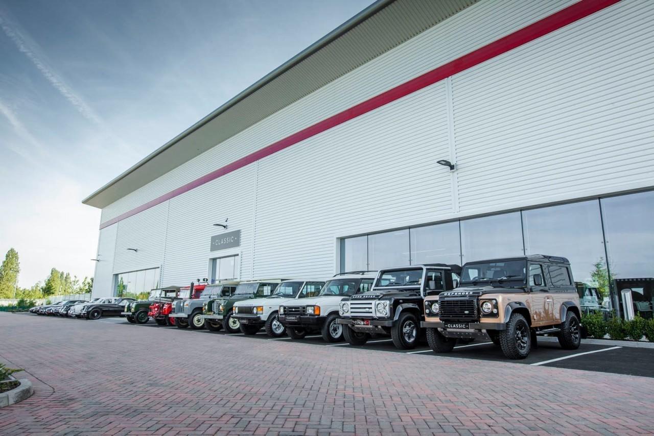 Центр реставрации автомобилей Jaguar Land Rover