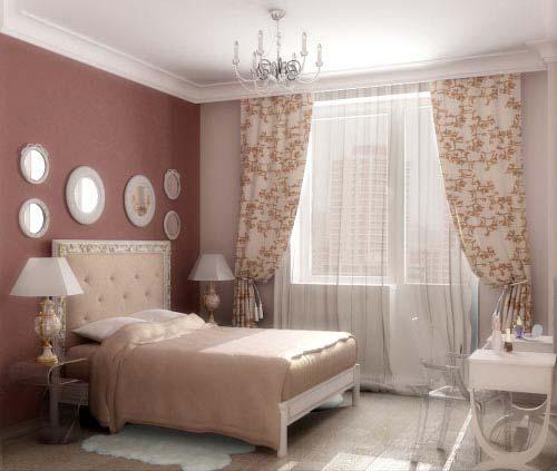 Оформление комнаты в сладких цветах