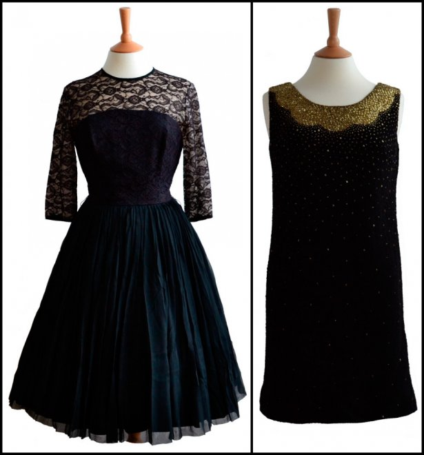 Винтажное платье 60 годов с фото