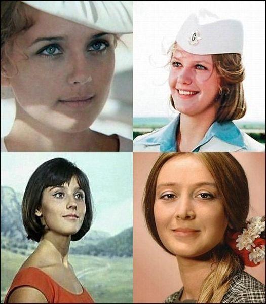 Знаменитые актрисы СССР тогда и сейчас (60 фото)