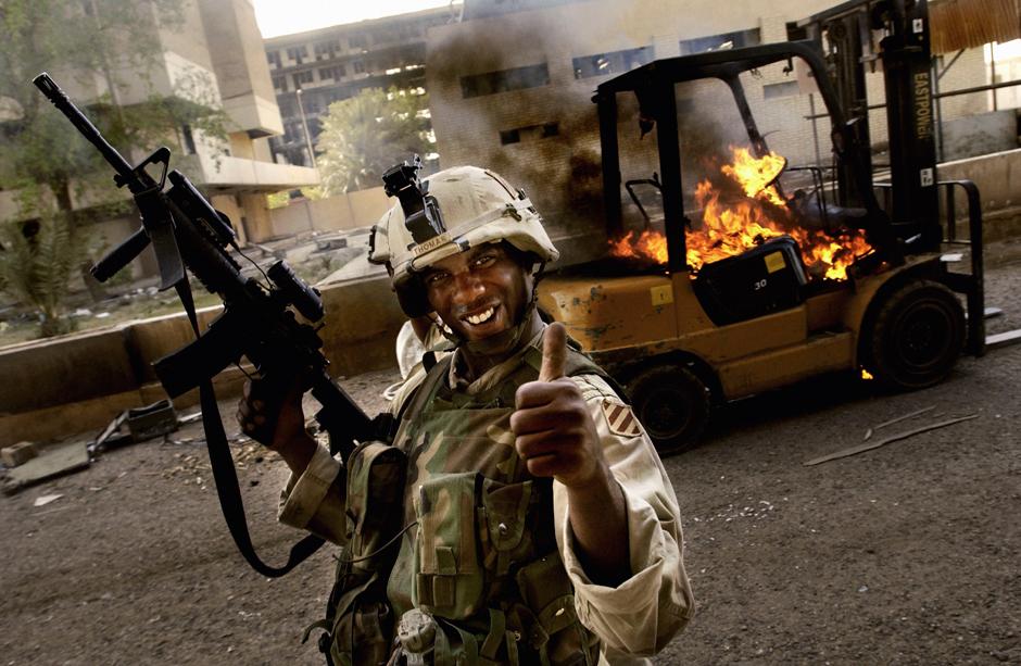 Фотохроника Иракской войны.