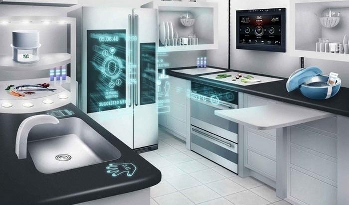 Кухня будущего может выглядеть вот так...