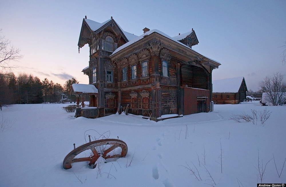 Старинный терем в Погорелово. Костромская область