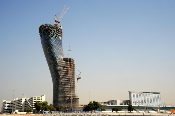 Capital Gate construction