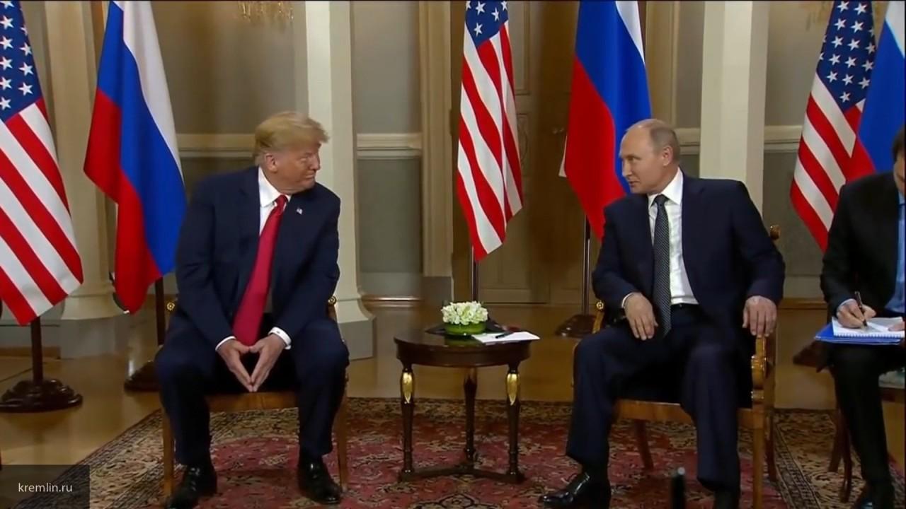 СМИ: Путин на встрече с Трампом предложил провести референдум по Донбассу