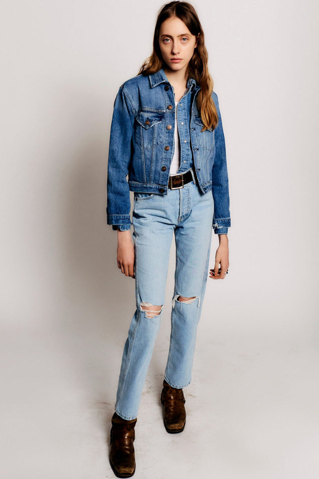 Как и какие джинсы носить этой осенью