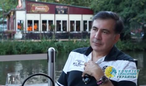 Саакашвили: Против Порошенко…