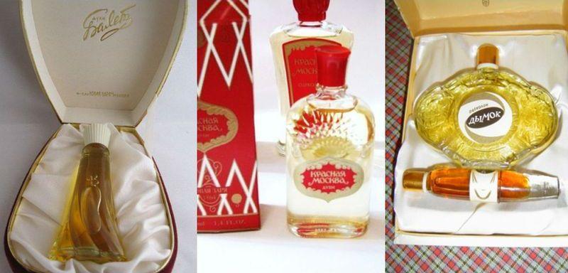 parfyum00 Яркие представители парфюмерии СССР