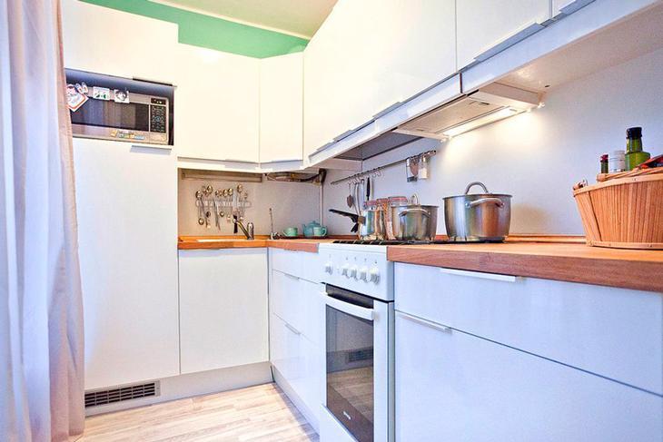 Дизайн и модернизация кухни в брежневке