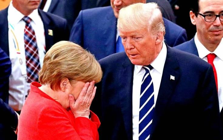Немецкий бундестаг: Меркель – американская подстилка