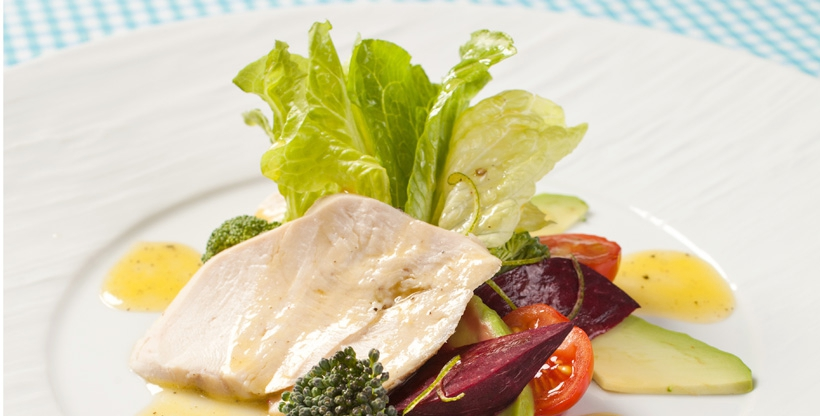 Летний салат «Мецини»