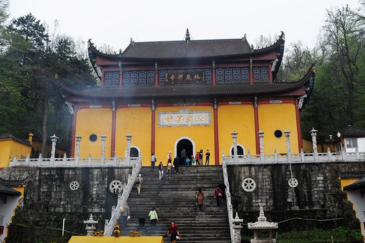 Гора Цзюхуа-Шань (Цзюхуашань, Mount Jiuhua)