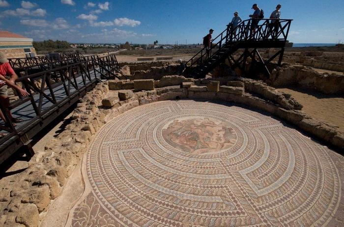 Античные мозаики: древние достопримечательности Пафоса