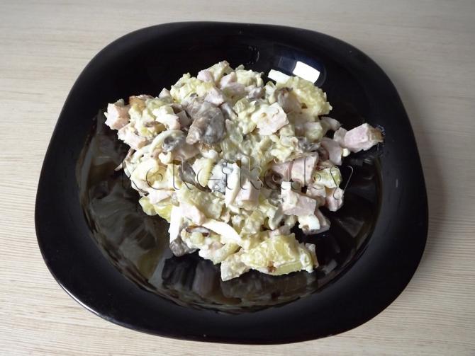 салат славянский рецепт с фото