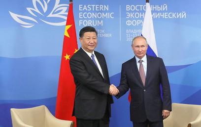 Путин и Си Цзиньпин впервые заговорили о военно-техническом сотрудничестве