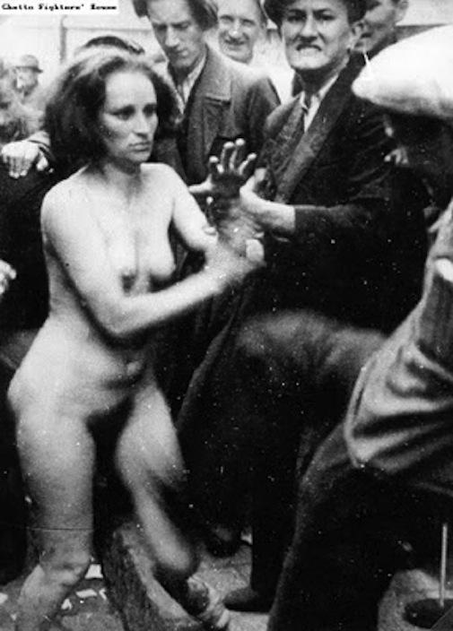 фото голых девушек во время войны