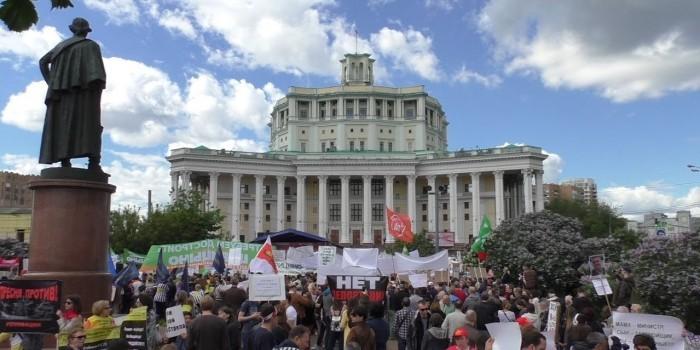 Короткое дыхание: почему митинги против реновации собрали так мало людей