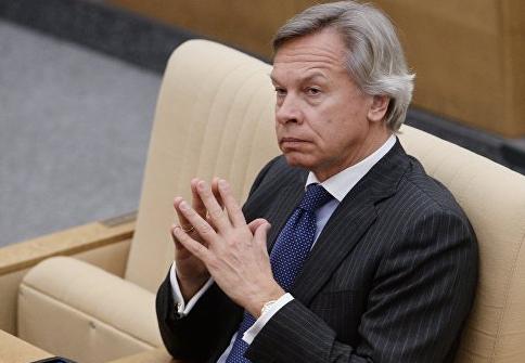 """Пушков ответил на угрозы Порошенко """"Газпрому"""""""