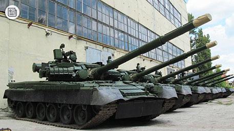 «Голые» танки Петра Порошенко в Донбассе: во что превратят Т-80 ополченцы