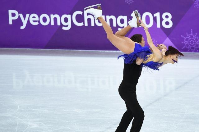 В коротком танце на ОИ лучшими стали фигуристы из Канады