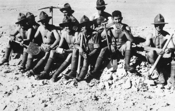 Новозеландцы - неизвестные союзники. От Греции до Сахары